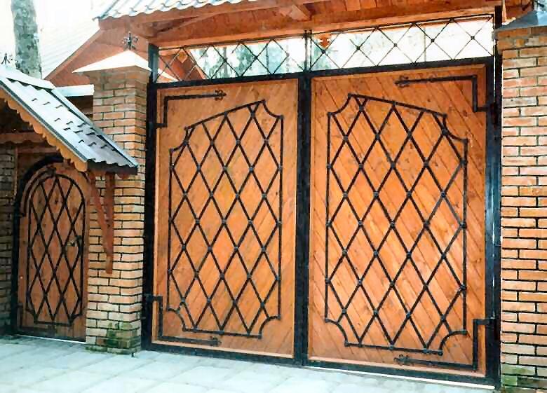 Ворота и калитки в своем доме двигатель на ворота 1300