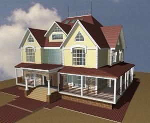 3D-модель дома
