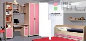 мебель для детской розовая